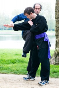 exercices de Wing Chun Kung Fu