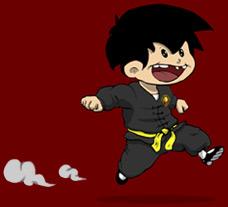 petit garcon pressé de faire du kung fu à versailles avec l'association Lee Siu Lung