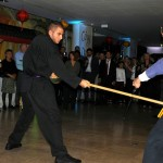 Sifu Eric NIEL et Michael BENDAHOU en action