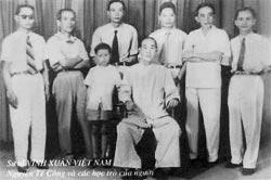 Maître Nguyen Te Cong et ses élèves
