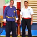 Sifu Albert CHEW et Eric Niel