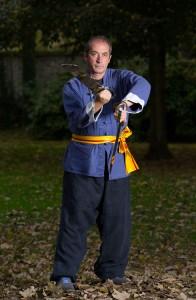 Eric Niel avec les doubles-couteaux