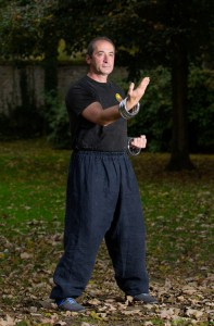 Eric Niel : exercices de Wing Chun Kung Fu avec les anneaux.