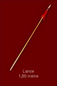 Lance 1,80m