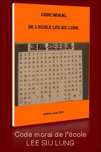 Code moral de l'école Lee Siu Lung