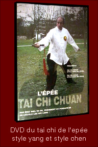 DVD epee tai chi